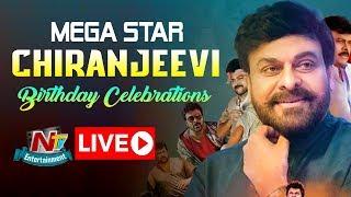 Megastar Chiranjeevi 63rd Birthday Celebrations LIVE   #SyeRaaNarasimhaReddy   NTV ENT