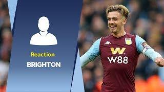 Post Brighton reaction | Jack Grealish