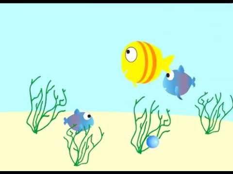 Fish Aquarium Cartoon