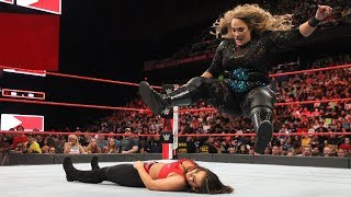Witness the power of Nia Jax before her face-to-face with Ronda Rousey