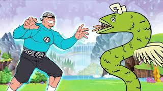 It's A Beautiful Underworld! - An Aquabats! Super Show! Cartoon.