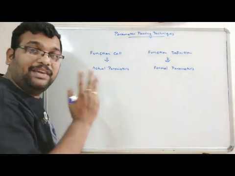 PARAMETER PASSING TECHNIQUES ( CALL BY VALUE, CALL BY REFERENCE, CALL BY ADDRESS ) - C++ PROGRAMMING