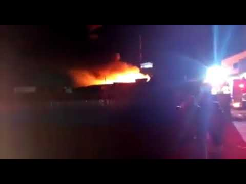 Comesa Market in Lusaka on fire
