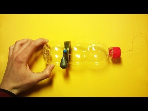 как сделать снасть на сазана из бутылки