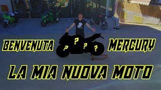 VI PRESENTO MERCURY ❤️ | LA MIA NUOVA MOTO! 🏍️
