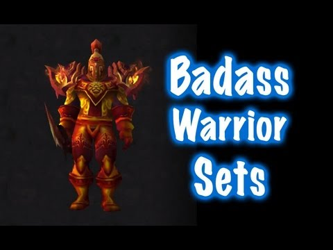 & 10 Badass Male Warrior Transmog Sets #1 (World of Warcraft) - YouTube