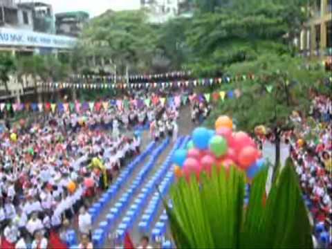 Trích Lễ khai giảng năm học mới 2011-2012 - Tiểu học Cát Linh.wmv