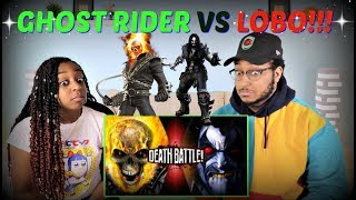 "Death Battle! ""Ghost Rider VS Lobo (Marvel VS DC)"" REACTION!!!"