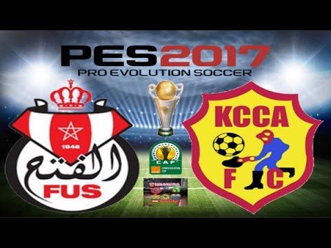 PS4 PES 2017 Gameplay FUS Rabat vs KCCA FC HD
