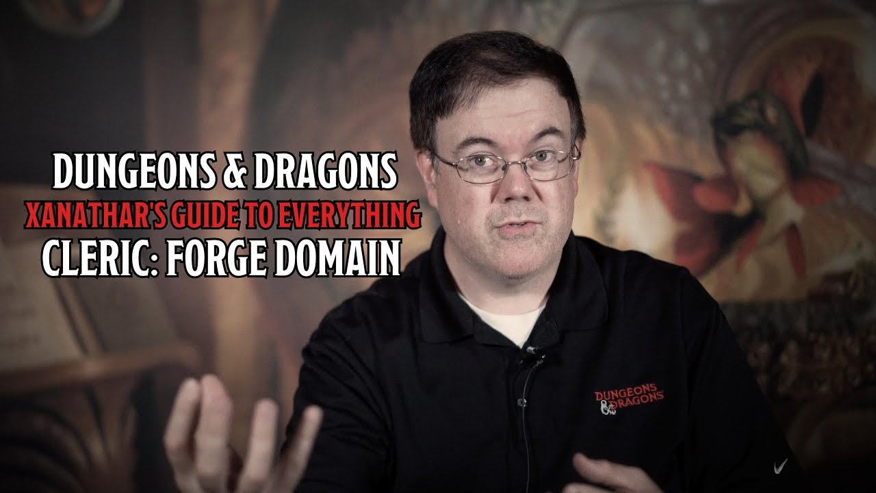 Introducing D&D's Cleric Forge Domain In Xanathar's Guide To Everything