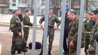 Дембель у десантников / Demobilization Russian Airborne Troops (VDV)