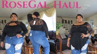 ROSEGAL PLUS SIZE TRY ON HAUL| MJ GLAM