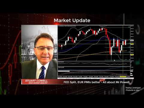 Fed Split, EUR PMIs better, all down to Mr Powell | August 22, 2019
