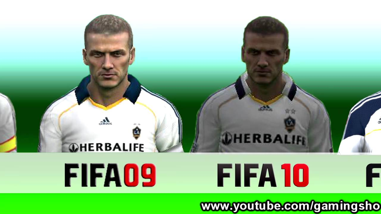 What team does david beckham play for in fifa 10 fifa 18 brazil squad formation