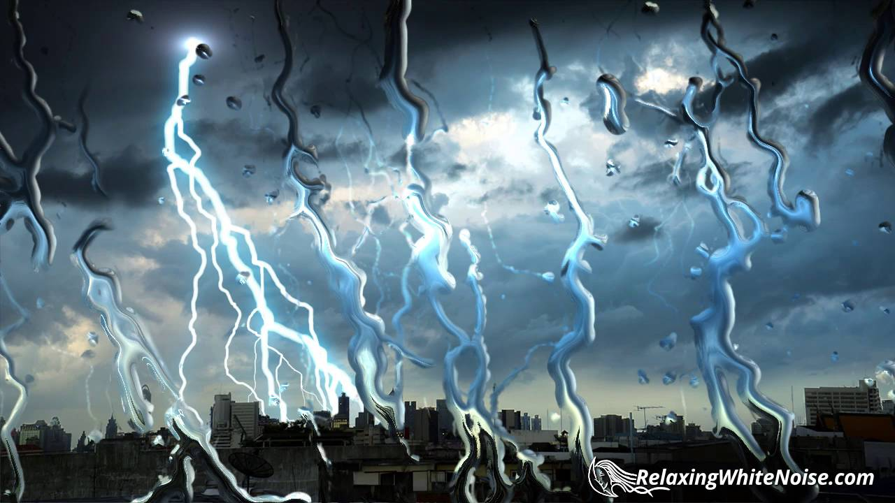 Thunderbolt u0026 Lightning Very Very (Soothing) | Rain and Thunder Sounds for Sleeping | White Noise - YouTube & Thunderbolt u0026 Lightning Very Very (Soothing) | Rain and Thunder ...
