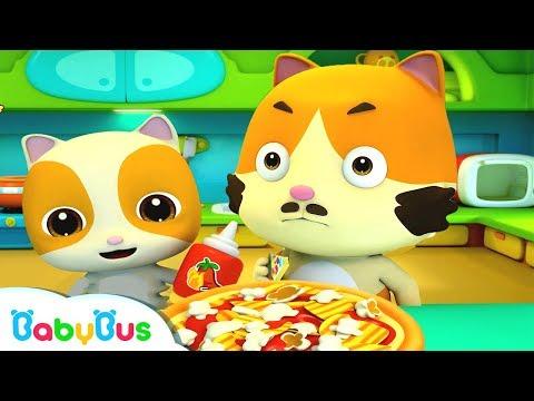 Baby Kitten&39;s Special Pizza  Food Song  Nursery Rhymes  Kids Songs  Baby Cartoon  BabyBus