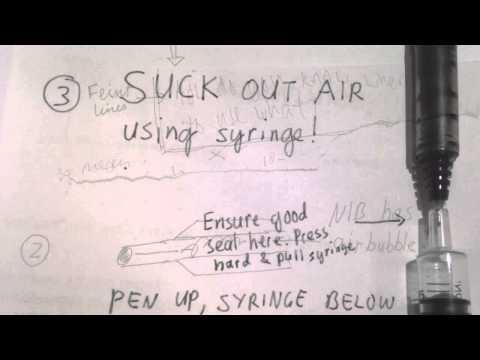 How To Fix Poor Ink Flow In Refilled Pilot Hi tech Pen