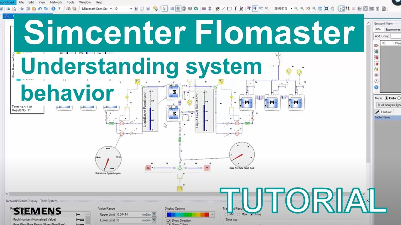[TECH TIPS Simcenter Flomaster] How to quickly understand system behavior using Simcenter Flomaster