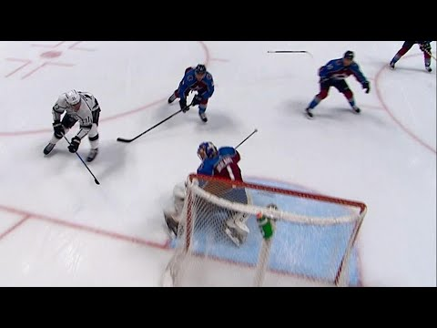 Kopitar completes hat trick with filthy backhand goal