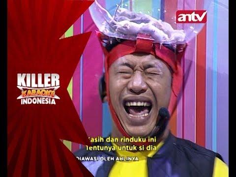 Kocaknya ekspresi Adi ditantangan Sundul Bolong! - Killer Karaoke Indonesia