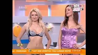 أحلى بنات بالملابس الداخلية في عرض أزياء من رومانيا