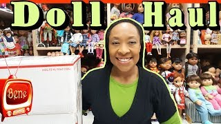 DOLL HAUL : My Life As School Boy Doll compared to Logan from American Girl