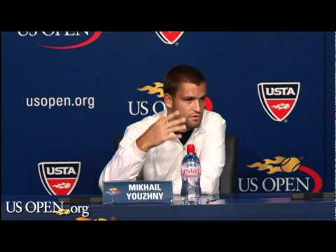 Youzhny Discusses US Open Quarters Win Vs Wawrinka