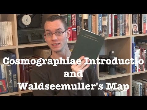 """Cosmographiae Introductio"" by Martin Waldseemuller and Mathias Ringmann - Bookworm History"