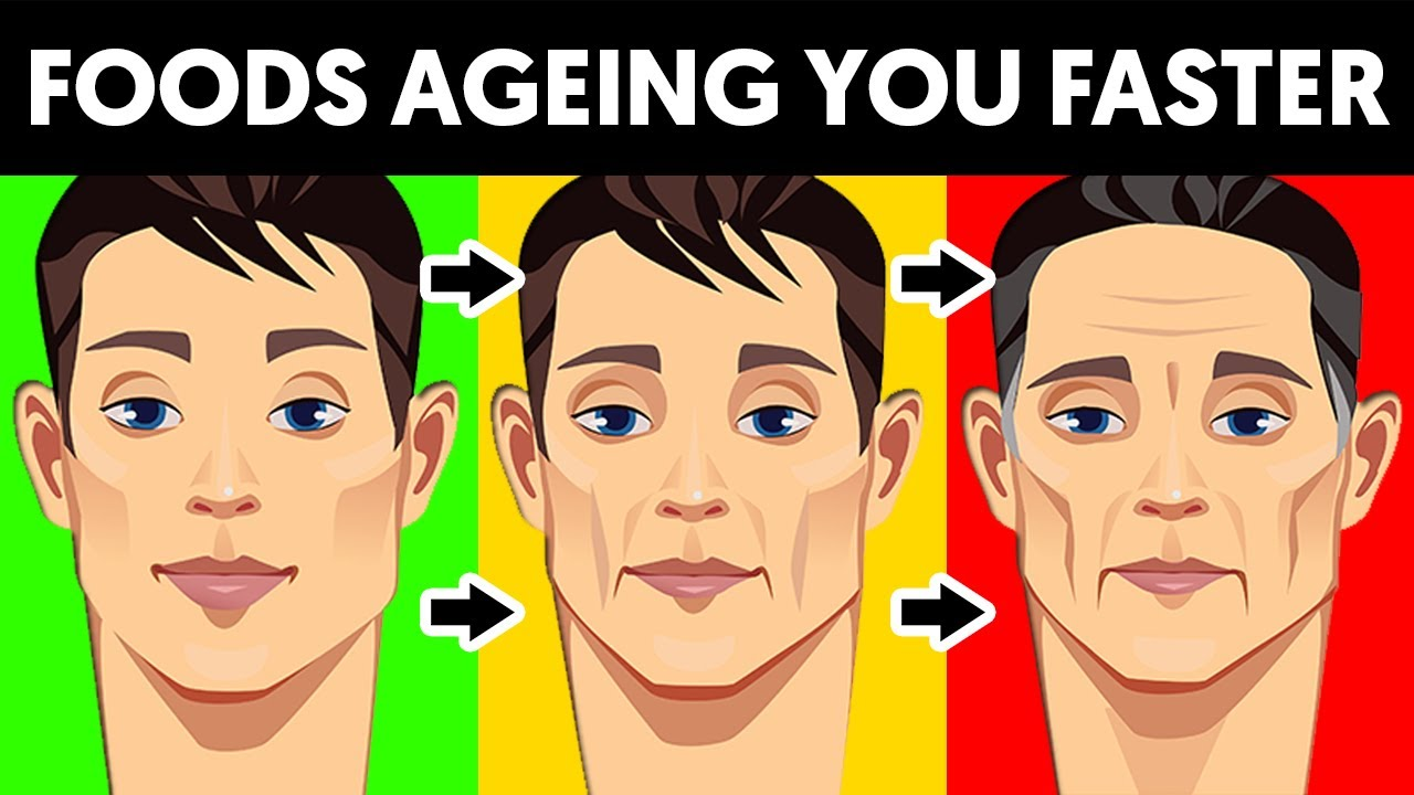 5 Foods to avoid to stay looking young