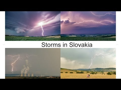 Storms in Slovakia