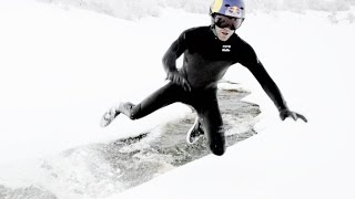 Wakeskating in Winter w/ Brian Grubb