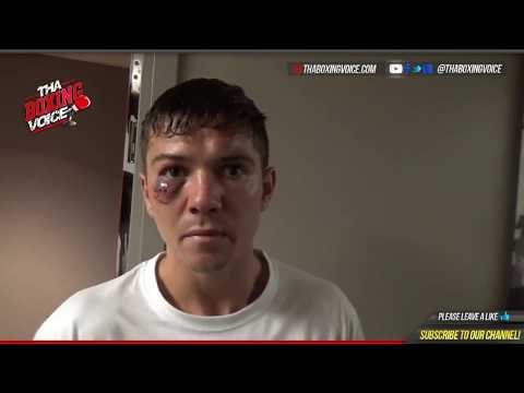 LUKE CAMPBELL: IMMEDIATE REACTION to LOSING FIGHT WITH LINARES
