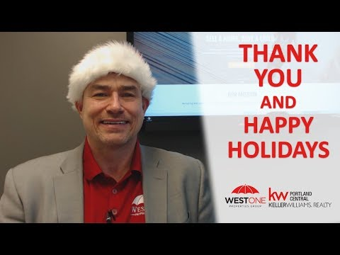 #1 Real Estate Team In The Portland Metro | SW Washington: Thank You And Happy Holidays