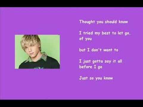 Jesse McCartney - Just So You Know Video ( Lyrics ) mp3