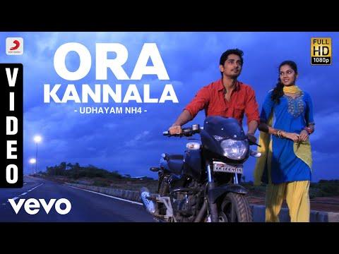 Udhayam NH4 - Ora Kannala Video | Siddharth, Ashrita