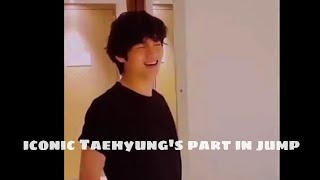 BTS everytime singing iconic Taehyung's part in jump