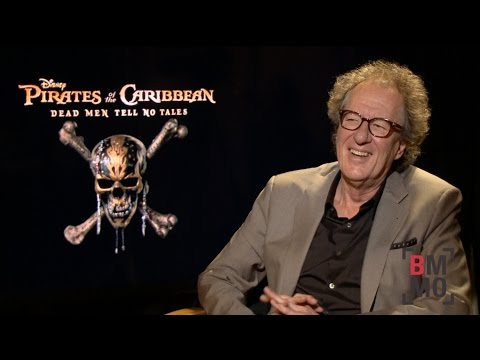 Geoffrey Rush Interview - Pirates of the Caribbean: Dead Men Tell No Tales