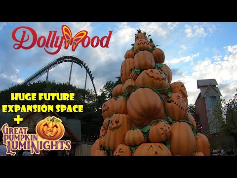 Dollywood General Park Update 10.9.19 Future Expansion, Great Pumpkin LumiNights, & More!