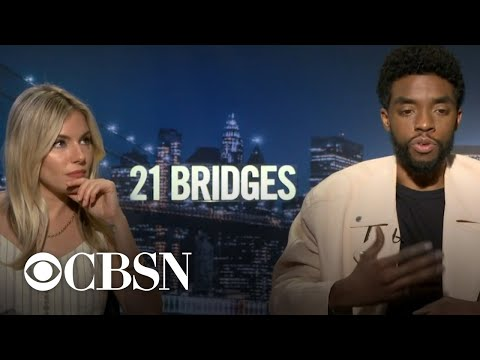Sienna Miller says Chadwick Boseman took pay cut to raise her salary