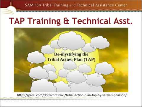 Resources to Help Develop and Support a Tribal Action Plan (TAP)