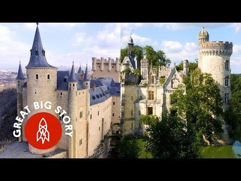 8 Real-Life Fairytale Castles