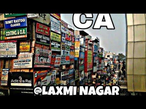 A guide to Laxmi nagar,Delhi for CA aspirants -KHAN'S VLOG