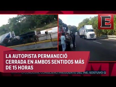 Miles de automovilistas padecen cierre de la México-Cuernavaca