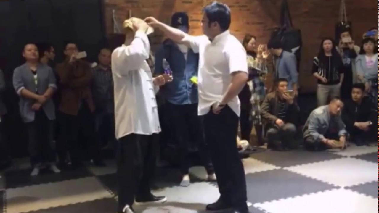 MMA徐晓冬成都挑战太极大师雷公[完整版]