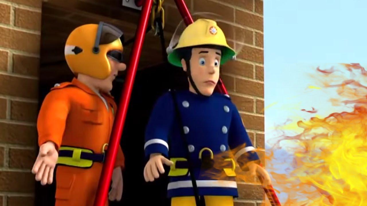 حلقات جديدة من سامي رجل الإطفاء🔥 الادخار من على السطح🔥 حلقة كاملة من سامي رجل الإطفاء
