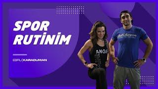 Spor Rutinim | Crossfit Antrenmanım !!