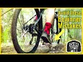 These Simple Tips Will Make Learning To Ride a Budget Bike EASIER! // Beginner Mountain Bike Guide
