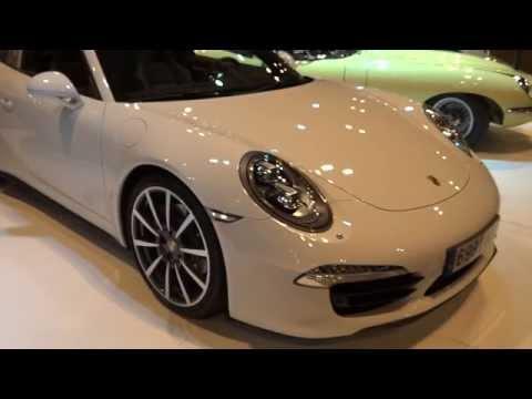 Porsche 911 Targa 4S at Madrid Motor Show 2014 | AutoMotoTV