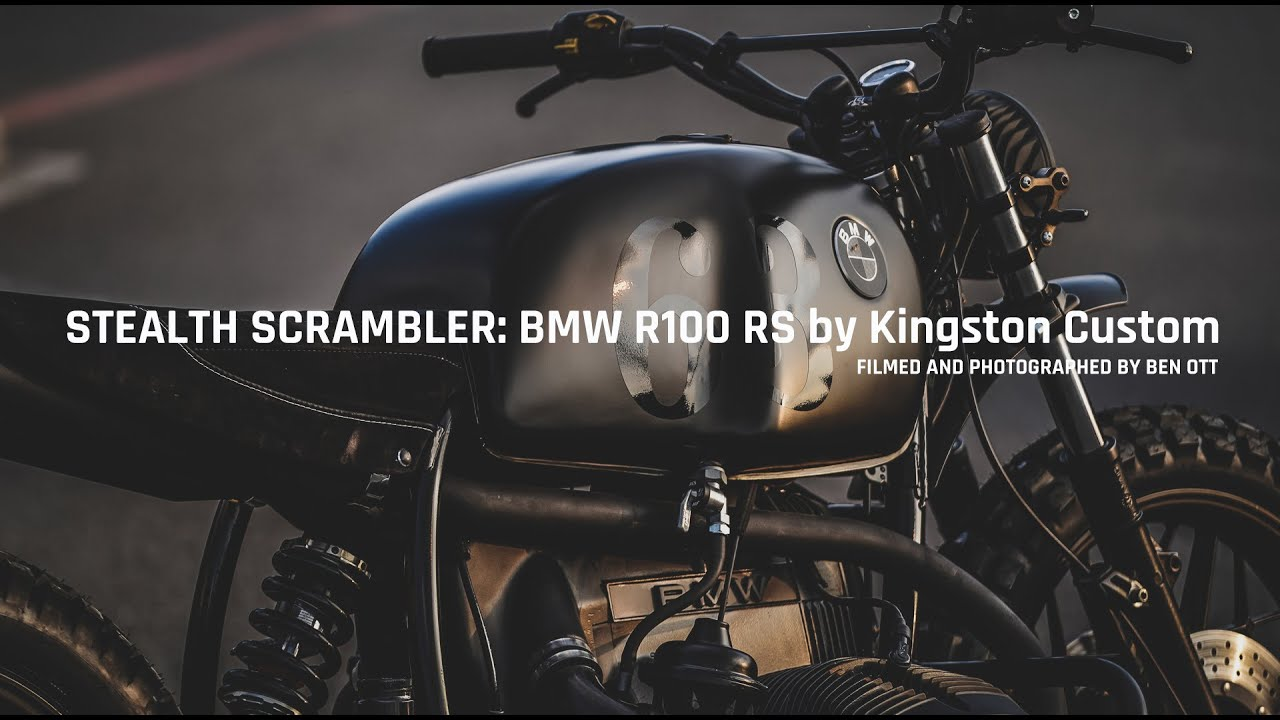 STEALTH SCRAMBLER: BMW R100 RS by Kingston Custom