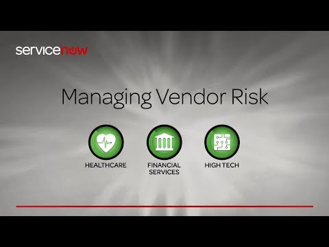 ServiceNow GRC Vendor Risk Management Overview